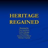 Heritage regained