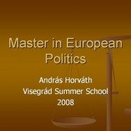 Master in European Politics