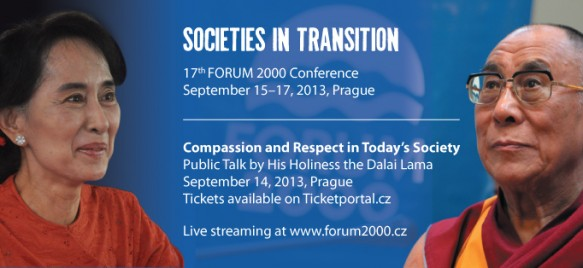 Prague - Forum 2000 Conference: Societies in Transition